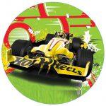 Hot Wheels cake image