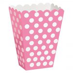 Pink Polka Dots Treat Boxes