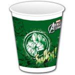 Hulk Plastic Cups