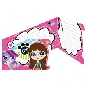 Littlest Pet Shop Invites & Envelopes