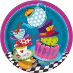 Mad Hatter Tea Party Lunch Paper Plates