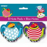 Mad Hatter Tea Party Notepads