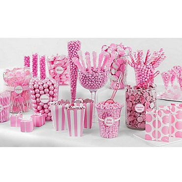 Pink Candy Buffet-1