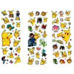 Pokemon Puff Stickers