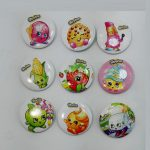 Shopkins Pin Badge Buttons