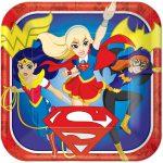 DC Super Hero Girls Dinner Plates