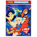 DC Super Hero Girls Favor Bags 8ct