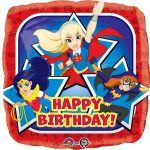 DC Super Hero Girls Foil Balloon