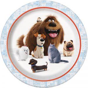 Secret Life of Pets Dinner Plates