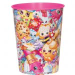 Shopkins Collection 16 oz. Plastic Cup