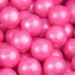 Pink Shimmer Gumballs Bulk-1