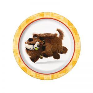 Secret Life of Pets Dessert Plates