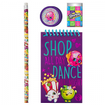 Shopkins Stationery Set 4pc