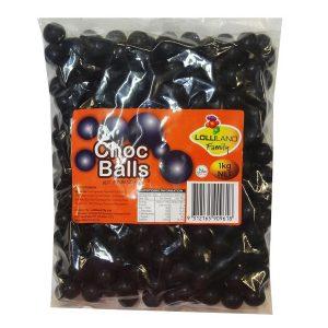 Black Choc Balls 1kg
