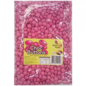 Pink Choc buttons 1kg