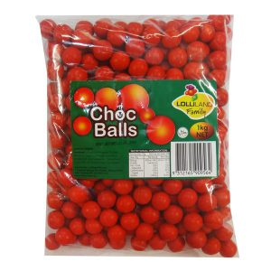 Red Choc Balls 1kg