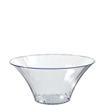 CLEAR Plastic Flared Bowl 30oz