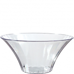 CLEAR Plastic Flared Bowl 70oz