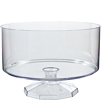 CLEAR Plastic Trifle Container 80oz