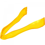 Mini Yellow Plastic Tongs
