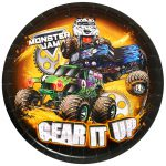 Monster Jam Crunch Dinner Plates