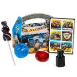 Monster Jam Crunch Party Favor Box