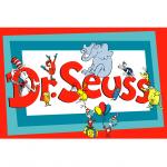 Dr. Seuss A4 Cake Image-1