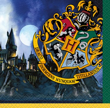 Harry Potter Beverage Napkins Harry Potter Party