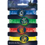 Harry Potter Rubber Bracelet Favors (4 Pack)