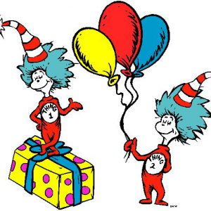 Dr Seuss Partyware