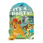 Lion Guard Invitation