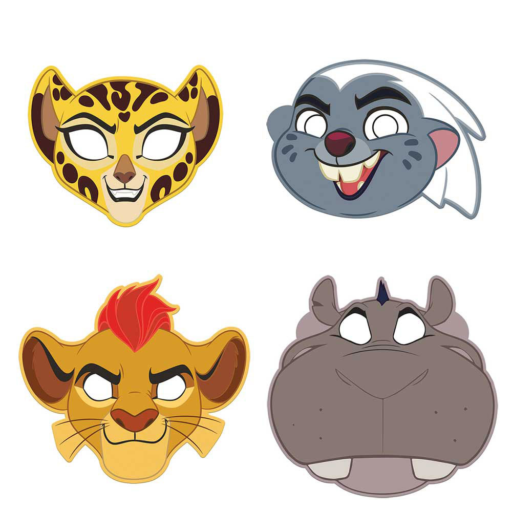 Lion Guard Party Masks   Lion Guard Party Ideas   This Party Started