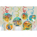 Lion Guard Swirl Decorations