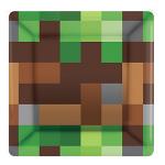 Minecraft Cake Plates