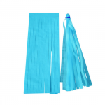 Baby Blue Paper Tassels