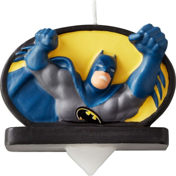 Batman Birthday Candle