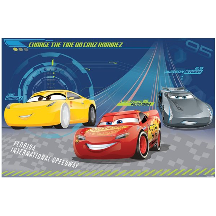 Cars 3 A4 Cake Image Disney Cars 3 Party Supplies This Party Started