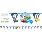 Cars 3 Birthday Age Banner Kit
