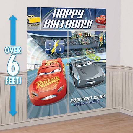 Cars 3 Scene Setter Kit