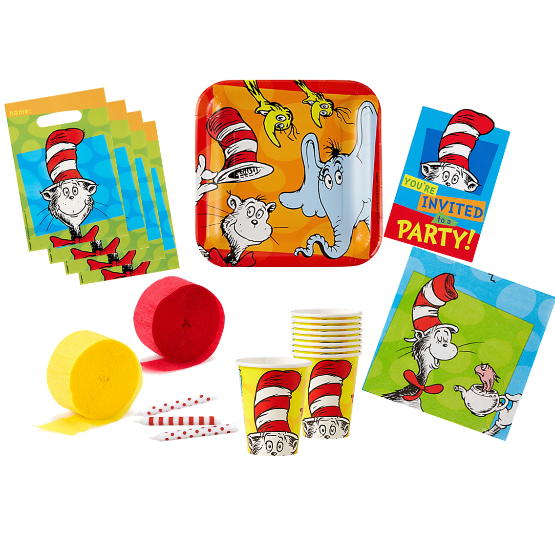 Dr. Seuss Basic Party Pack