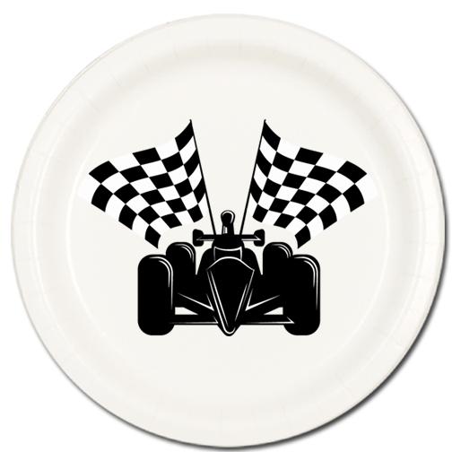 F1 Dessert Plates