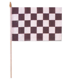 Formula 1 Grand Prix Checked Flag