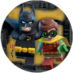 Lego Batman Movie Cake Image
