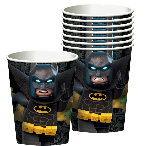 Lego Batman Movie Cups 8ct