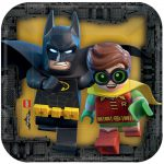 Lego Batman Movie Dessert Plates 8ct