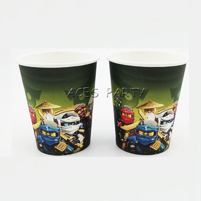 Ninjago Paper Cups