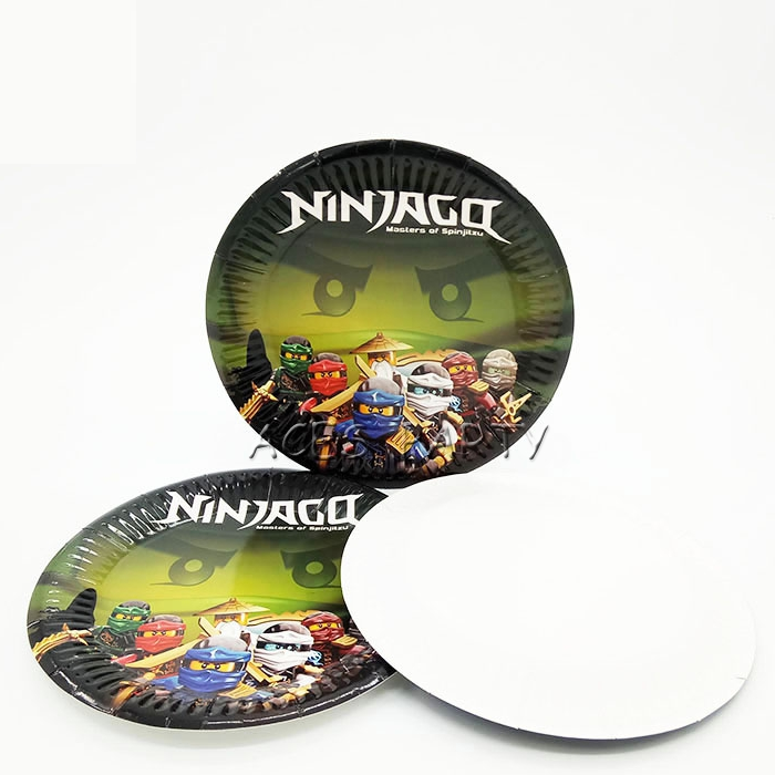Ninjago Paper Plates  sc 1 st  This Party Started & Ninjago Paper Plates | Ninjago Party Supplies | This Party Started
