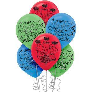 PJ Masks Latex Balloons