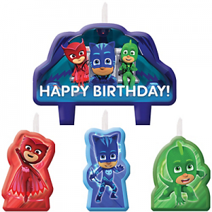 PJ Masks Candles
