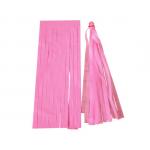 Pink Paper Tassels